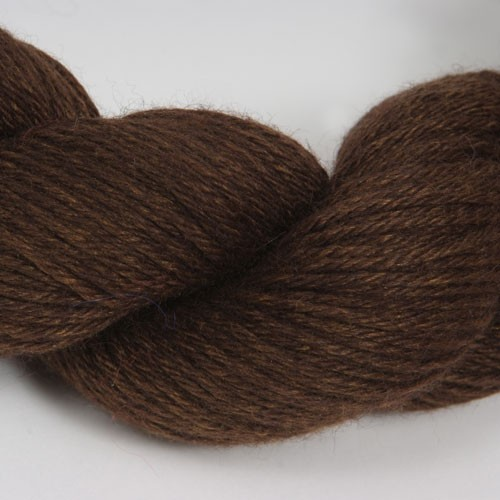 Aslan Trends King Baby Llama & Mulberry Silk Yarn Chocolate
