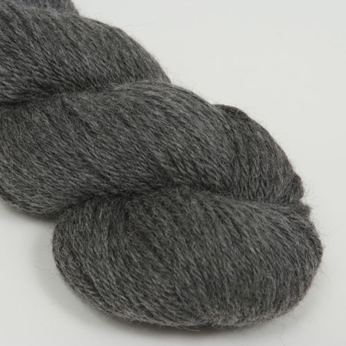 Aslan Trends King Baby Llama & Mulberry Silk Garn Andean Coal