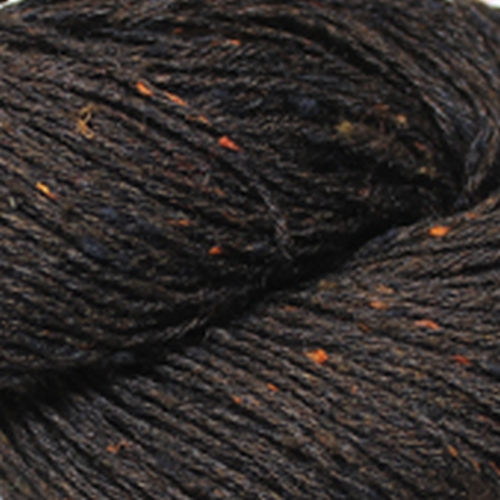 BC Garn Tussah Tweed Garn Dark Brown TT08