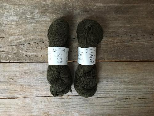Biches et Buches Le Gros Lambswool Garn Dark Green