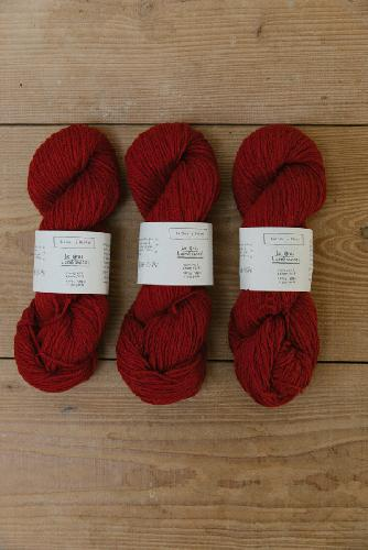 Biches et Buches Le Gros Lambswool Yarn Medium Red
