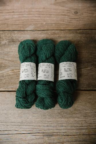 Biches et Buches Le Petit Lambswool Garn Forest Green
