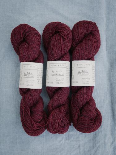 Biches et Buches Le Petit Lambswool Yarn Norwegian Red