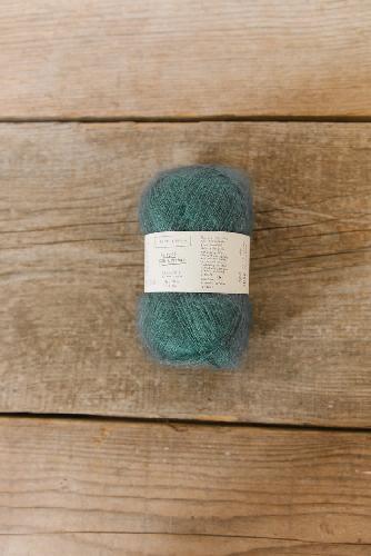 Biches et Buches Le Petit Silk et Mohair Garn Bluegreen