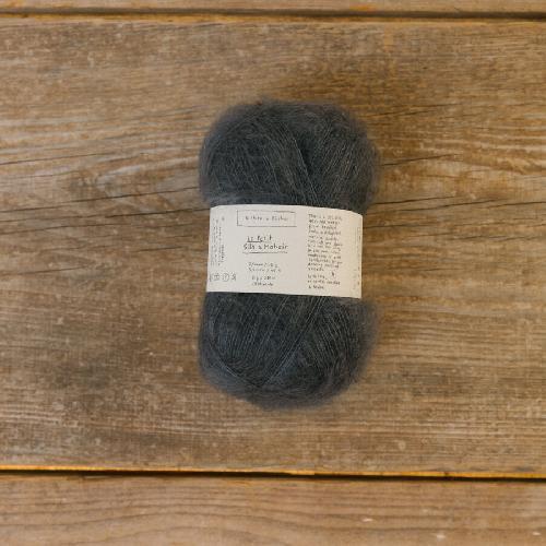 Biches et Buches Le Petit Silk et Mohair Garn Dark Blue
