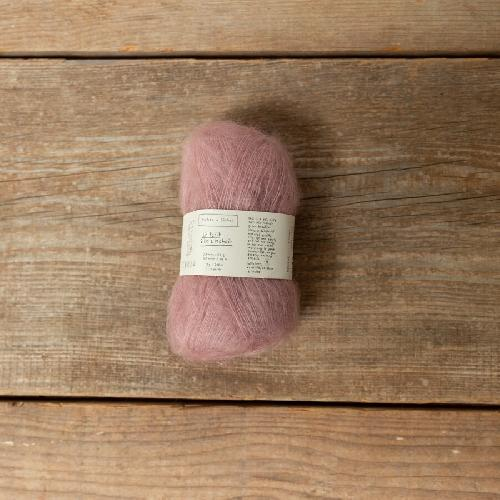 Biches et Buches Le Petit Silk et Mohair Yarn Light Pink
