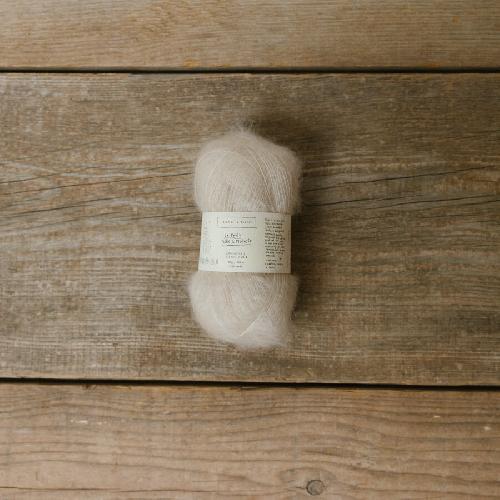 Biches et Buches Le Petit Silk et Mohair Garn Nude Pink