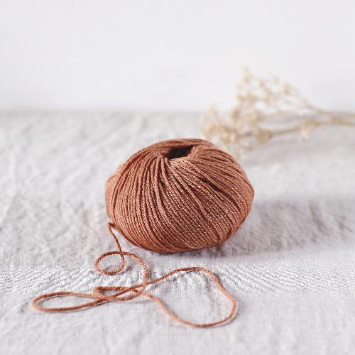 de rerum natura Penelope mit Seide Yarn Or rose