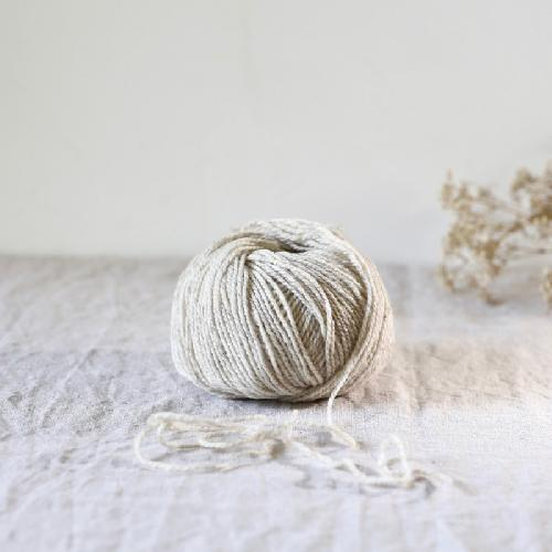 de rerum natura Ulysse Yarn Poivre Blanc