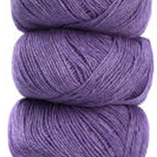 Geilsk Bomuld og Uld Garn Lavender C 6