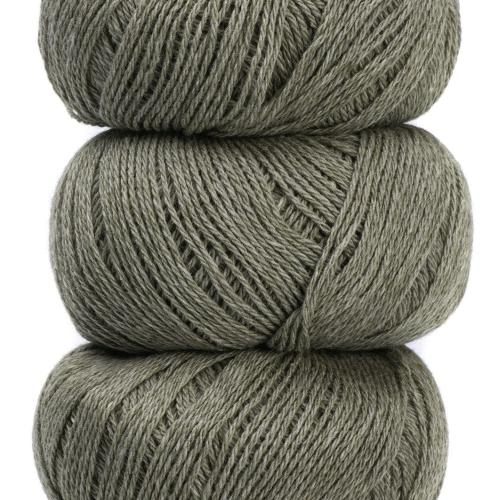 Geilsk Bomuld og Uld Yarn Medium Grey C 15