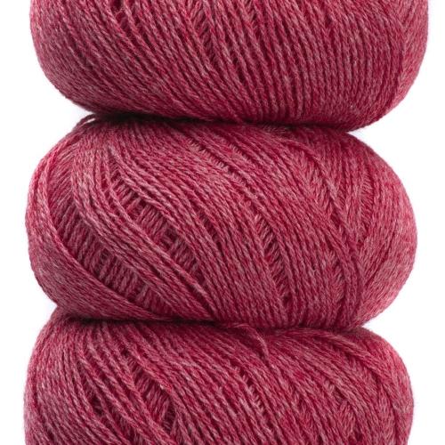 Geilsk Bomuld og Uld Garn Pale Red C 21