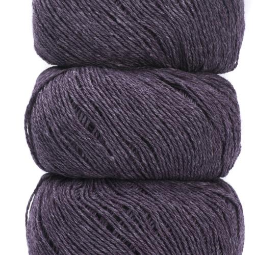 Geilsk Bomuld og Uld Garn Purple C 5