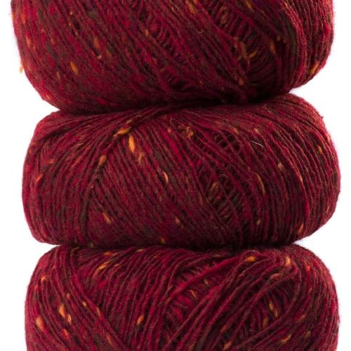 Geilsk Tweed Garn Bordeaux T30