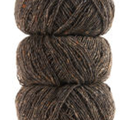 Geilsk Tweed Garn Brown-Grey T34