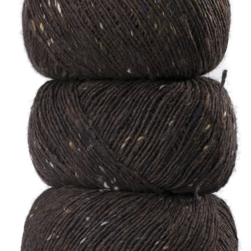 Geilsk Tweed Garn Brown T6