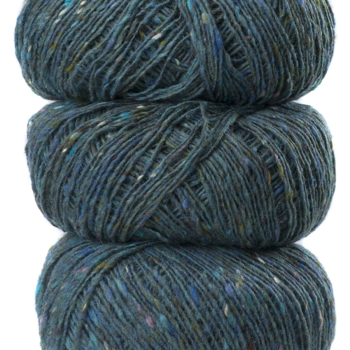 Geilsk Tweed Yarn Faded Blue T15