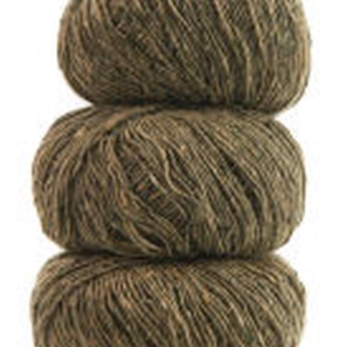 Geilsk Tweed Garn Khaki T36