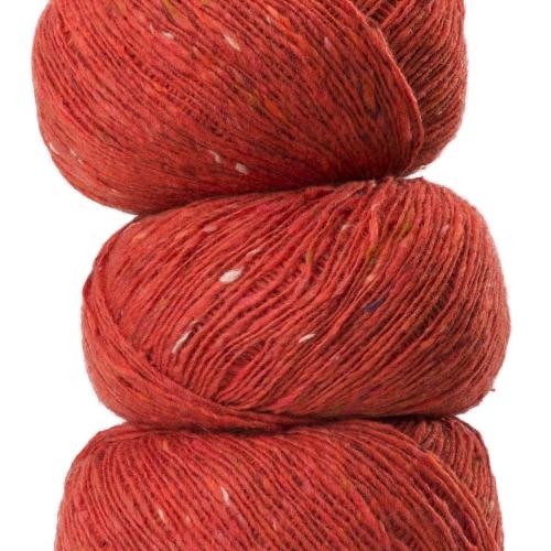 Geilsk Tweed Garn Terracotta T28