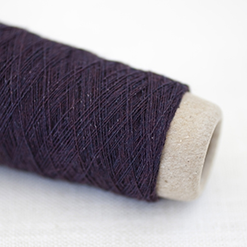 Habu Wool Stainless Steel Garn Bordeaux 49