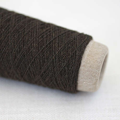 Habu Wool Stainless Steel Yarn Brown (Yellow-green 2 lt. Habu)