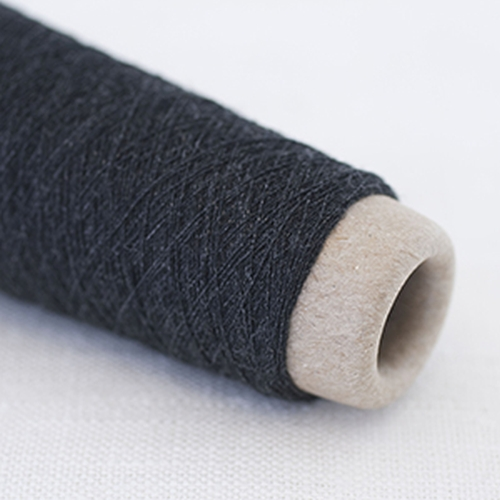 Habu Wool Stainless Steel Garn Charcoal 35