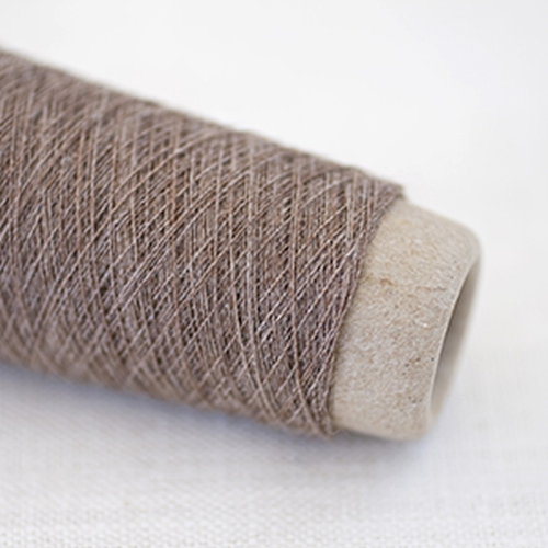 Habu Wool Stainless Steel Yarn Mocha 53