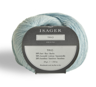 Isager Trio Yarn Frost