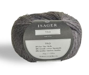Isager Trio Garn Granite
