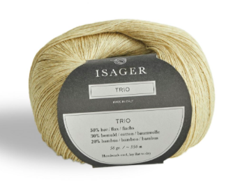 Isager Trio Yarn Linen