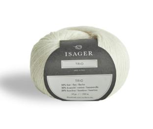 Isager Trio Yarn White