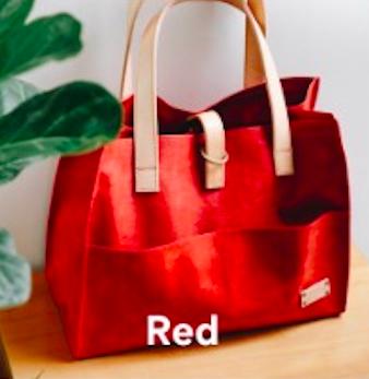 Joji & Co. Box Tote Projektbeutel Red