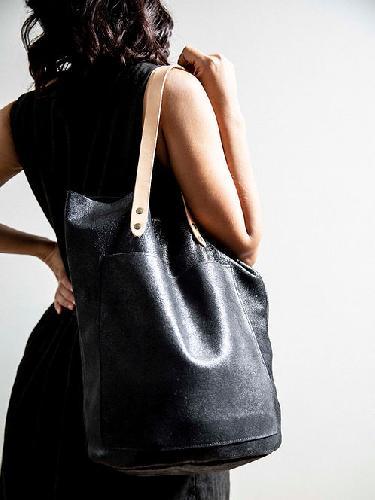 Joji & Co. CBA Tote Projektbeutel Textured Black