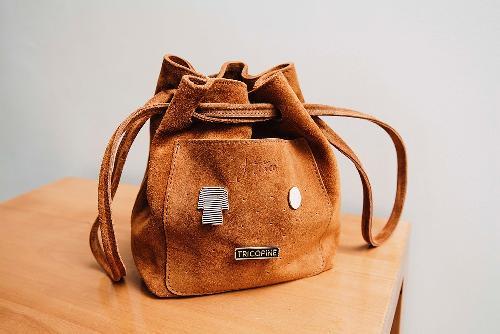 Joji & Co. HOBO Bag Projektbeutel Brown