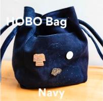 Joji & Co. HOBO Bag Projektbeutel Navy