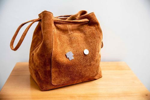 Joji & Co. XL HOBO Bag Projektbeutel Brown