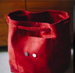 Joji & Co. XL Hobo Bag Projektbeutel Cranberry