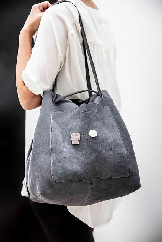 Joji & Co. XL HOBO Bag Bags Grey