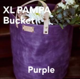 Joji & Co. XL Pampa Bucket Projektbeutel Purple