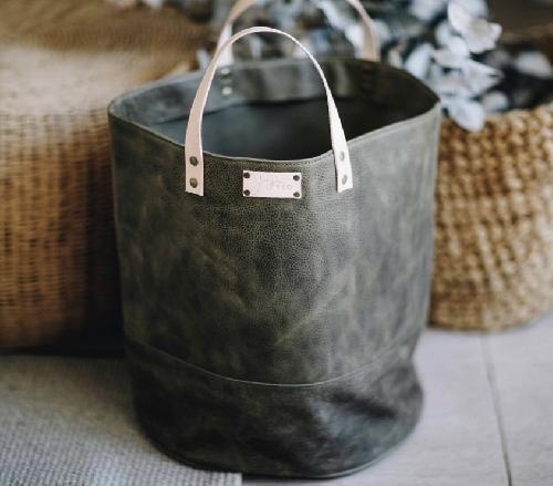 Joji & Co. XL Pampa Bucket Projektbeutel Olive