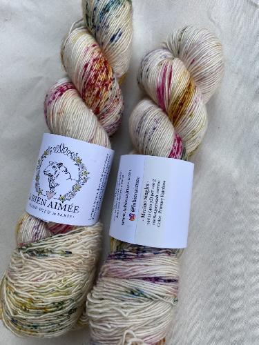 La Bien Aimee Merino Singles Yarn Primary Rainbow