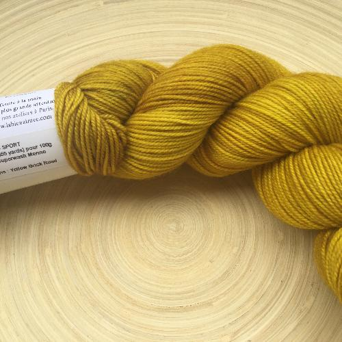 La Bien Aimee Merino Sport Yarn Yellow Brick Road