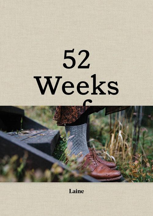 LAINE MAGAZINE 52 weeks of socks