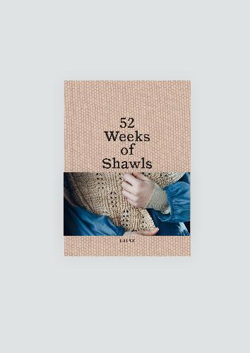 Laine Magazine Laine Magazine Book, heavy 52 weeks of shawls