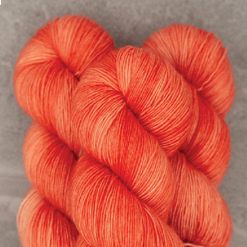 Madelinetosh Merino light Yarn California Poppy