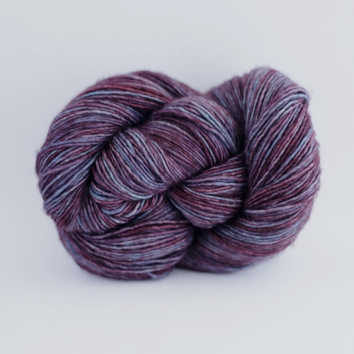 Madelinetosh Merino light Yarn Coal Seam