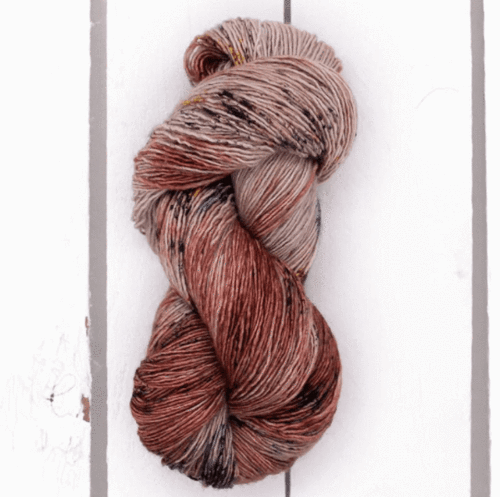 Madelinetosh Merino light Garn Dark Roast