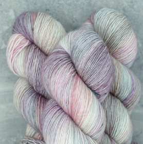 Madelinetosh Merino light Yarn Dustweaver