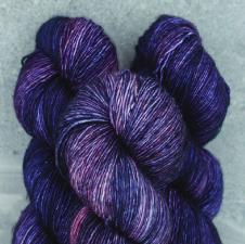 Madelinetosh Merino light Yarn Eleven Dark
