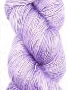 Madelinetosh Merino light Garn Icy Purple